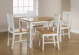 Dining Table White And Wood Dining Table Pythonet Home Furniture - White and wood kitchen table