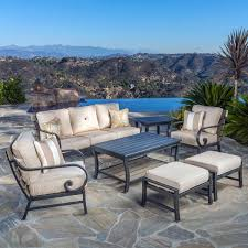 Real Wicker Patio Furniture - seating sets costco