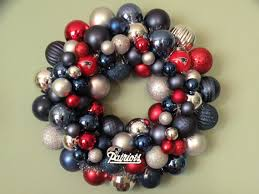 make a wreath with your teams colors day