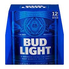 sodium in light beer bud light beer 12 pk 12 0 fl oz walmart com