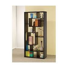 Oak Room Divider Shelves Coaster Room Divider Shelf In Black Oak Finish Free Shipping Ebay