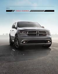 Dodge Durango Truck - chrysler 2015 durango dodge dodge truck sales brochure