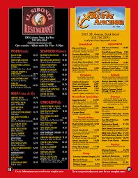 rusty anchor seafood restaurant menu key west u2013 best key west