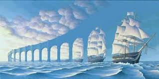 illusions images bridge or boat wallpaper and background photos