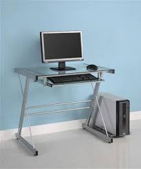 Blue Computer Desk by Walker Edison Desks From Computerdesk Com