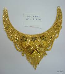 necklace choker design images 22kt gold necklace traditional design gold choker filigree jpg