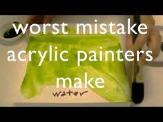 top tips for painting skin tones in acrylic primary colors