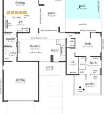 Pool Guest House Floor Plans Indoor Pool House Plans