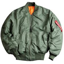 alpha industries ma 1 flight jacket in 6 colours