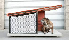 cool dog houses modern dog house from rah design boasts contemporary sophistication