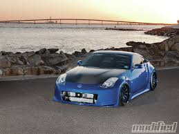 custom black nissan 350z 2003 nissan 350z track modified magazine