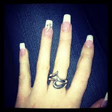 black gel nails w cute flower designs yelp