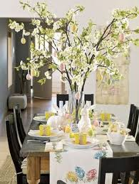 Easter Banquet Table Decorations by