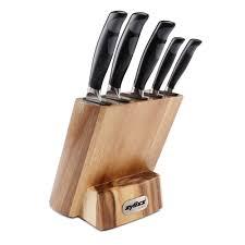 Uk Kitchen Knives Zyliss Control 5 Piece Knife Block Set Kitchen Knives Zyliss Uk
