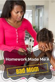 Bad Mothers Homework Made Me A Bad Mother U2026 Goofball Mommy