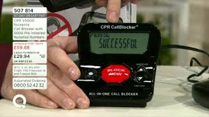 Blockers Uk Cpr Call Blocker V5000 Launch On Qvc Uk