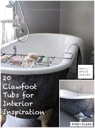 20 clawfoot tub interior design inspirations
