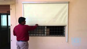 Make Your Own Roller Blinds Roller Blinds With Side Guide Rail Youtube