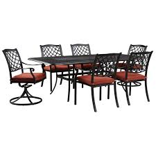 Patio Furniture Cleveland Ohio by Signature Design By Ashley Tanglevale Outdoor Dining Table Set