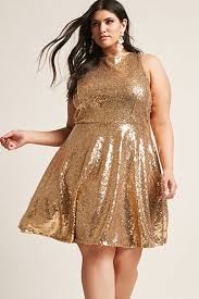 plus size fit and flare dresses skater dresses forever21