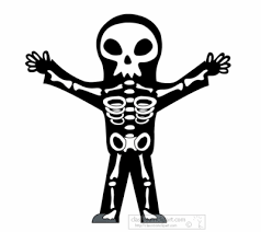 Halloween Skeleton Halloween Animated Clipart Halloween Skeleton Animation 2
