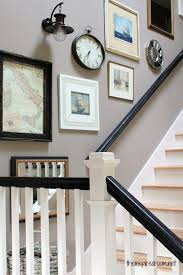 Up The Stairs Wall Decor Mixing Silver And Gold Home Decor Fabulous Designer Ways To