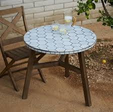 Pier One Bistro Table And Chairs Furniture Enticing White Outdoor Mosaic Bistro Table Design