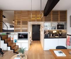 Beautiful Attic Apartment With Clever Design Features - Apartment interior design ideas pictures