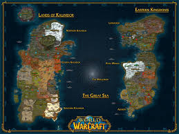 Cool World Maps by Hd Map Of Azeroth Has A Couple Typos But Still Cool Xpost R