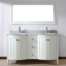 60 In Bathroom Vanity by Bridgeport 60 Inch White Double Sink Bathroom Vanity Hand Stained