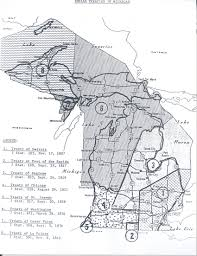 Map Of Upper Michigan by Dnr Indigenous Peoples Rights