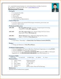Free Resume For Freshers Free Resume Format For Freshers Cbshow Co