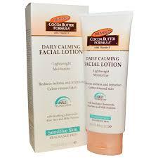 light moisturizer for sensitive skin palmer s cocoa butter formula daily calming lotion