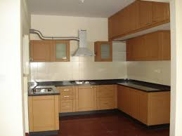 exquisite modular kitchen with parallel shape featuring white