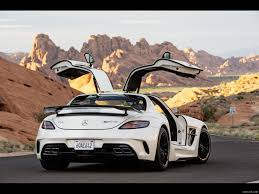 mercedes sls wallpaper 2014 mercedes benz sls amg coupe black series white rear hd