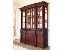 Cabinet Dining Room by Breakfront China Cabinet Dining Room Furniture Thomasville