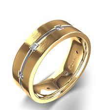 Wedding Ring For Men by Gold Diamond Wedding Ring For Men