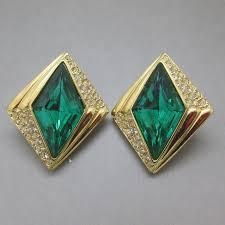 vintage earrings oscar de la renta earrings uk