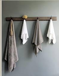 bathroom towel hooks ideas i think i like the idea of hooks for towels in the bathroom rather