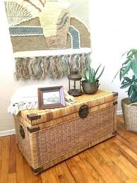 storage trunk coffee table wicker coffee table trunk best storage chest ideas on pallet toy