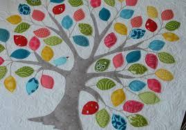 hyacinth quilt designs tree appliqué