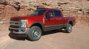 Ford Diesel Light Truck - ruby red caribou 2017 ford f250 lariat crew short bed 4x4 diesel