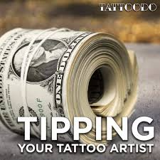 how much should tip your tattoo artist best tattoo 2017