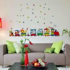 Animals Zoo Cars Train Wall Stickers Decor Kids Bedroom at Banggood