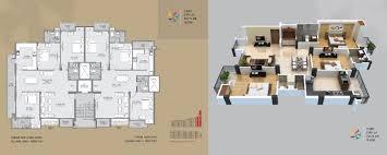3 Bhk Apartment Floor Plan by Manglam Aananda 2 3 Bhk Flats In Jaipur