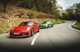nissan gtr vs bmw m4 mercedes amg gt r vs porsche 911 gt3 twin test review 2017 by