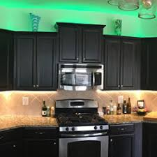 warm white led under cabinet lighting rgb warm white strip lights are used to light up under and over