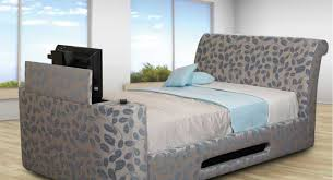 sweet dreams peacock tv bed 4ft 6 double tv bed co uk