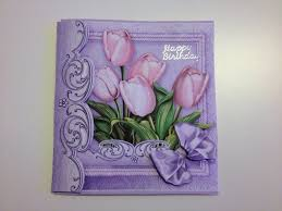 awesome handmade flowers make a wish birthday card for older