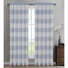 Shower Curtain With Pockets Striped Curtains U0026 Drapes You U0027ll Love Wayfair